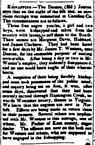 kidnappinginNorthStarMay4th1849